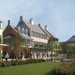Pointe-Marie Rendering 4 - Artist Colony
